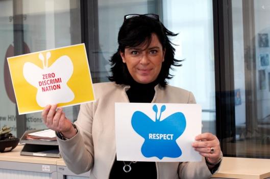 Campaña de las mariposas #zerodiscrimination