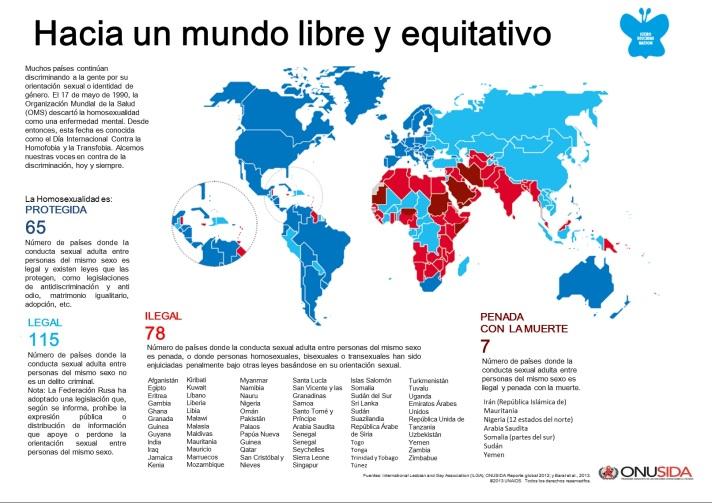 Hacia un mundo libre y equitativo IDAHOT 2014